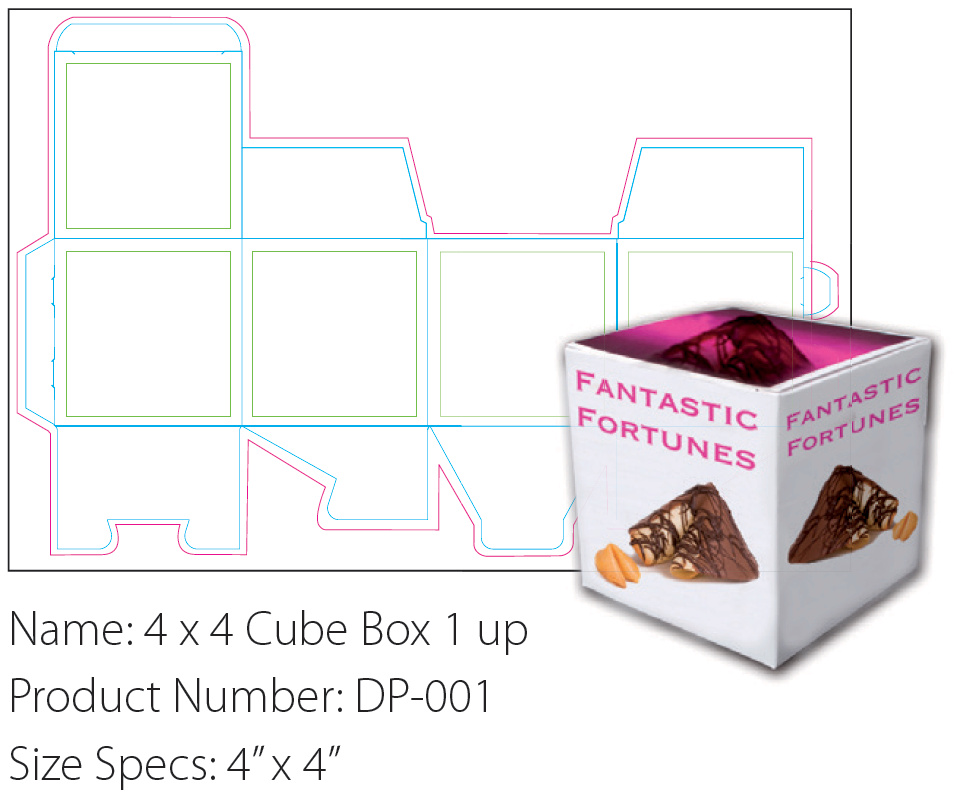 Packaging solutions cube box