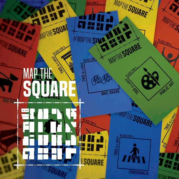 map the square waterproof tags