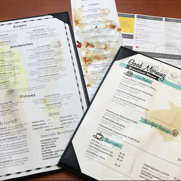 keeping menus clean