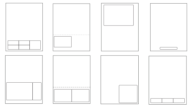 Some of the layout options