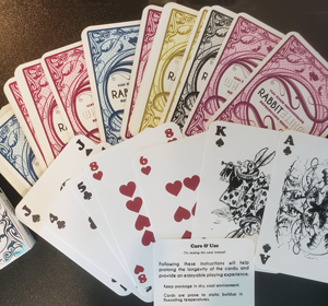 Playing cards from Ryan Rud-Cloud